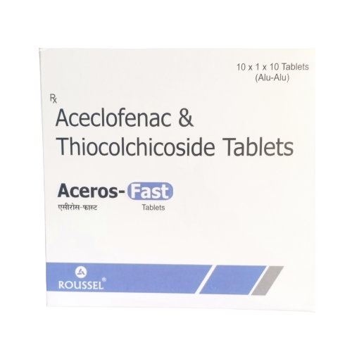 ACECLOFENAC 100  + THIOCOLCHICOSIDE  4 MG