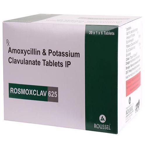 AMOXYCILLIN  500 MG + POTASSIUM CLAVULANATE 125 MG