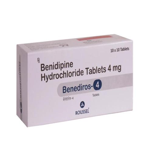 BENIDIPINE HYDROCHLORIDE 4 MG