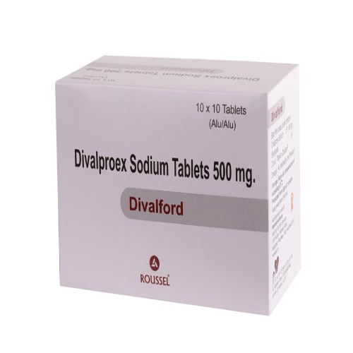 DIVALPROEX SODIUM 500 MG