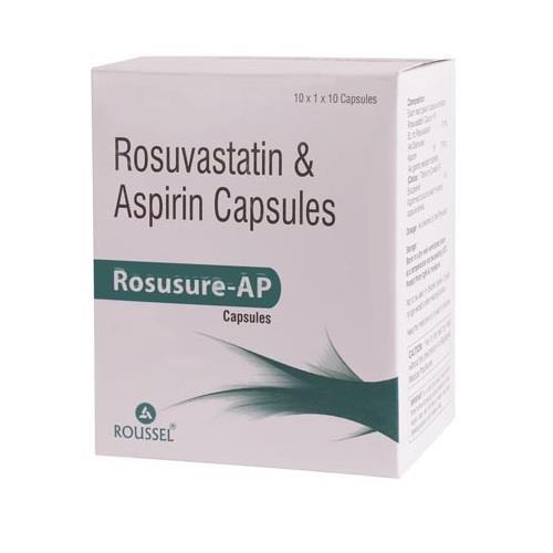 ROSUVASTATIN 10 MG + ASPIRIN 75 MG