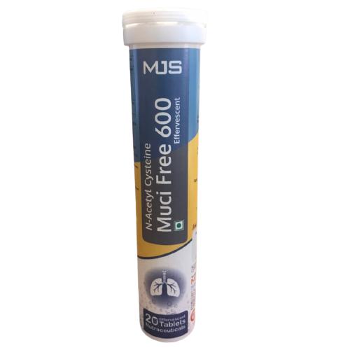ACETYLCYSTEINE EFFERVESCENT 600 MG