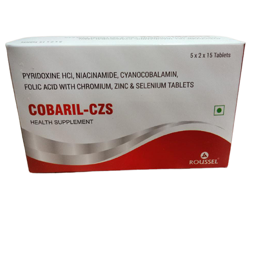 NIACINAMIDE 18 MG + ZINC 12 MG + PYRIDOXINE HYDROCHLORIDE 2 MG + FOLIC ACID 100 MCG + SELENIUM 40 MCG + CHROMIUM 31.1 MCG + CYANOCOBALAMIN 1 MCG