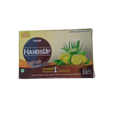 HANDSUP LIME & ALOVERA SOAP
