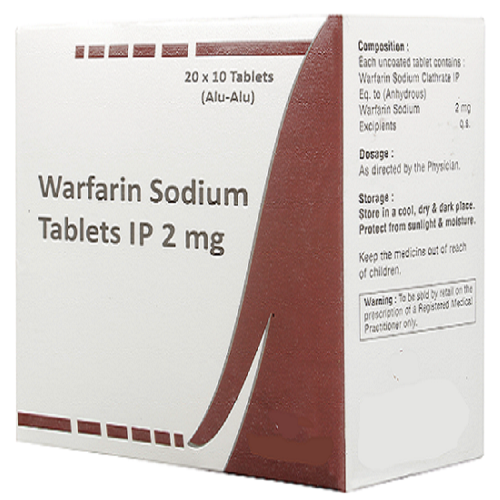 WARFARIN SODIUM 2 MG
