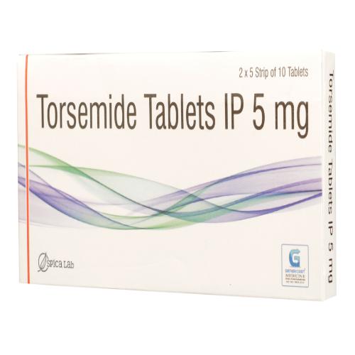 TORSEMIDE 5 MG