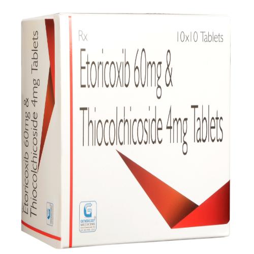 ETORICOXIB 60 MG + THIOCOLCHICOSIDE 4 MG