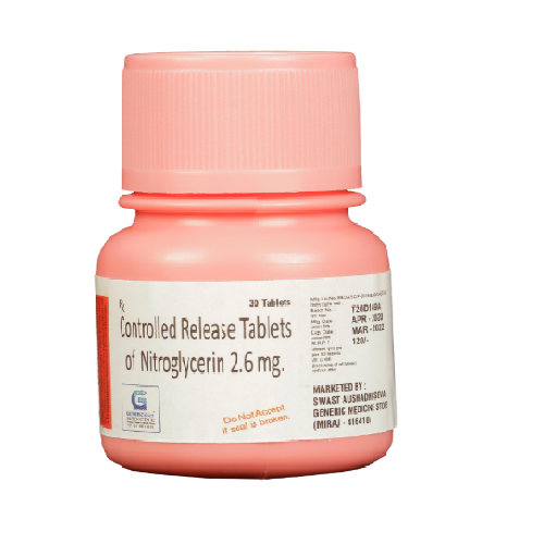 NITROGLYCERIN 2.6(CR)