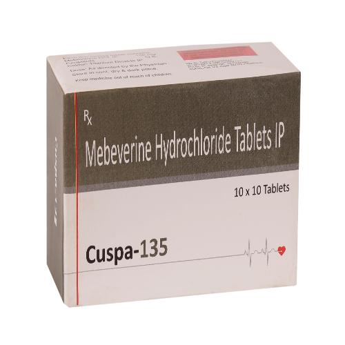 MEBEVERINE HYDROCHLORIDE 135 MG