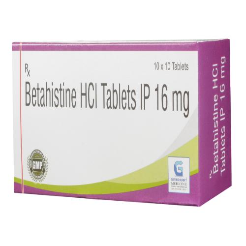 BETAHISTINE HYDROCHLORIDE 16 MG
