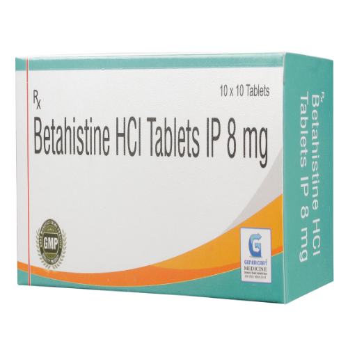 BETAHISTINE HYDROCHLORIDE 8 MG