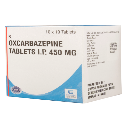 OXCARBAZEPINE 450 MG