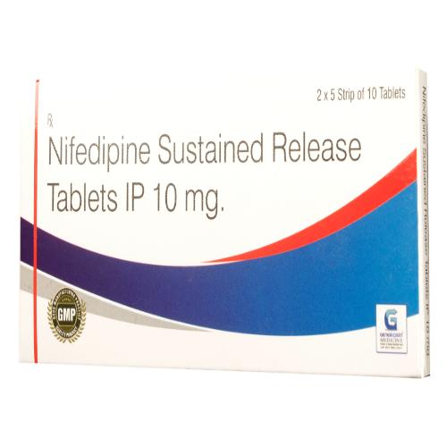 NIFEDIPINE SR 10 MG