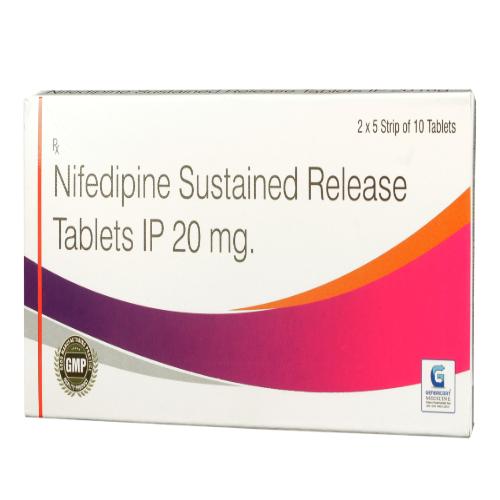 NIFEDIPINE SR 20 MG