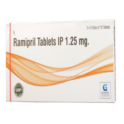 RAMIPRIL 1.25 MG