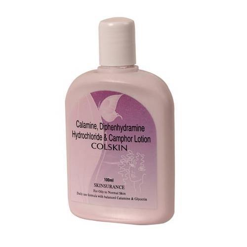 CALAMINE 8% w/v +  DIPHENHYDRAMINE HYDROCHLORIDE 1% w/v + CAMPHOR 0.1% w/v