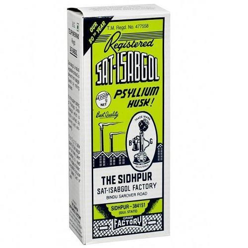 SAT ISABGOL 100 GM (SEEDS OF THE PLANTAGO OVATA) POWDER