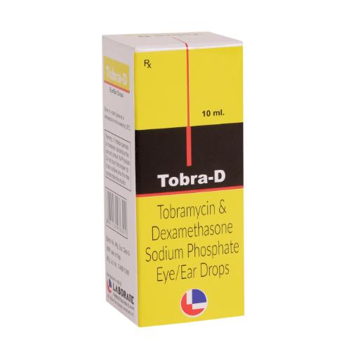 DEXAMETHASONE 0.1 % W/W + TOBRAMYCIN 0.3% W/W 10 ML (E/E DROP)