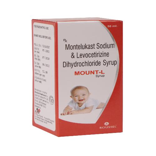 MONTELUKAST 4 MG + LEVOCETRIZINE 2.5 MG