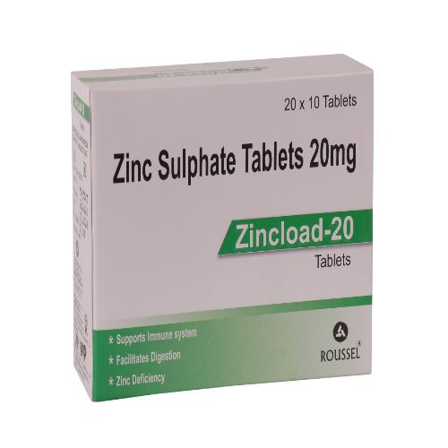 ZINC SULPHATE 20 MG