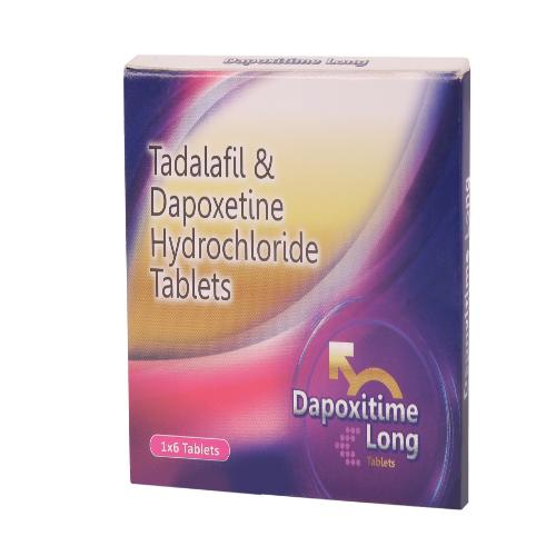 TADALAFIL 10 MG + DAPOXETINE HYDROCHLORIDE 30 MG