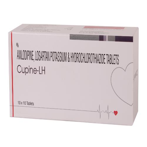 AMLODIPINE 5 MG + LOSARTAN POTASSIUM 50 MG + HYDROCHLOROTHIAZIDE 12.5 MG