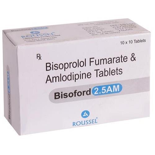 BISOPROLOL 2.5 MG + AMLODIPINE 2.5 MG