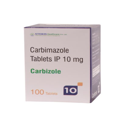 CARBIMAZOLE 10 MG