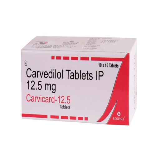 CARVEDILOL 12.50 MG