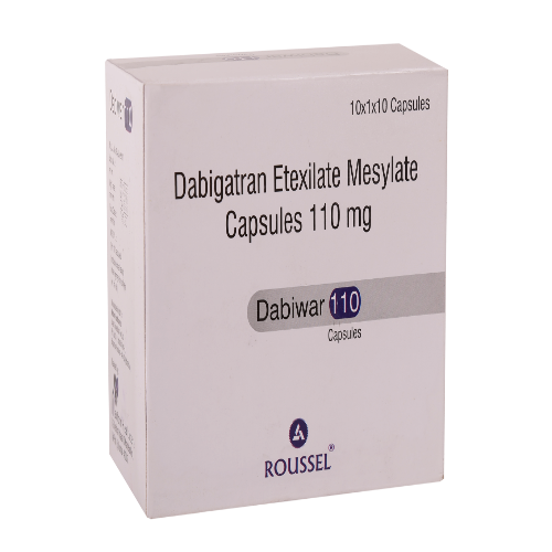 DABIGATRAN ETEXILATE MESYLATE 110 MG