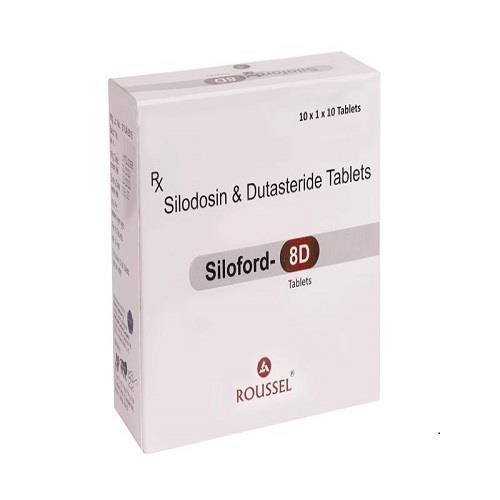 DUTASTERIDE 0.5 MG + SILODOSIN 8 MG