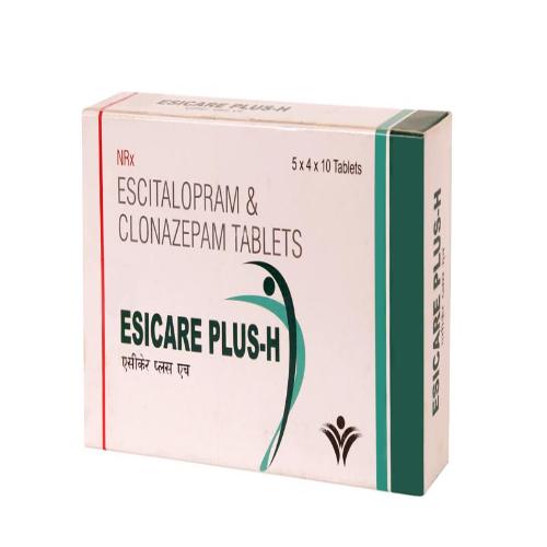 ESCITALOPRAM OXALATE 5 MG + CLONAZEPAM 0.25 MG