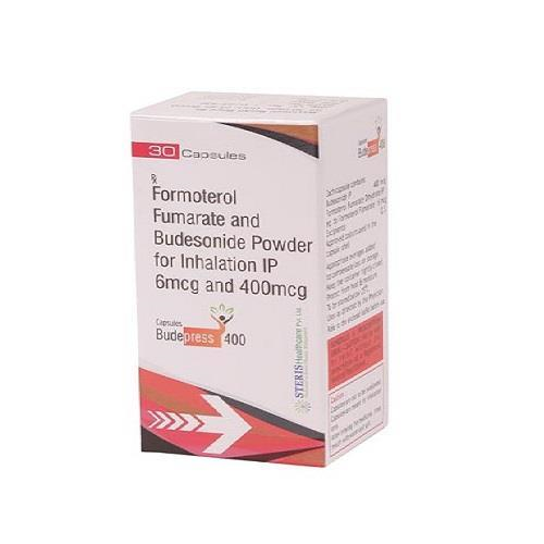 FORMOTEROL FUMARATE 6 MCG + BUDESONIDE IP 400 MCG