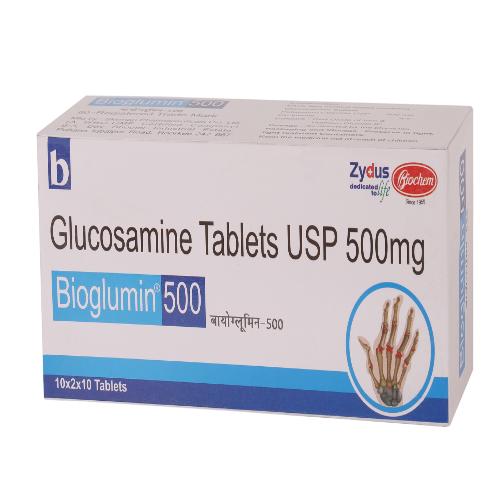 GLUCOSAMINE 500 MG
