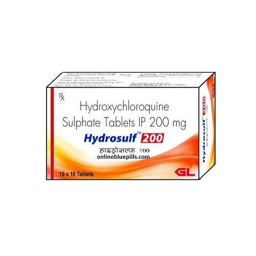 HYDROXYCHLOROQUIN SULPHATE 200 MG