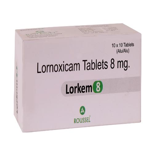 LORNOXICAM 8 MG