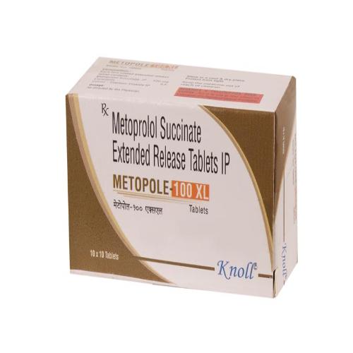 METOPROLOL SUCCINATE 100 MG SR
