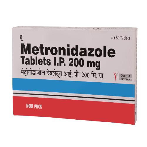 METRONIDAZOLE 200 MG