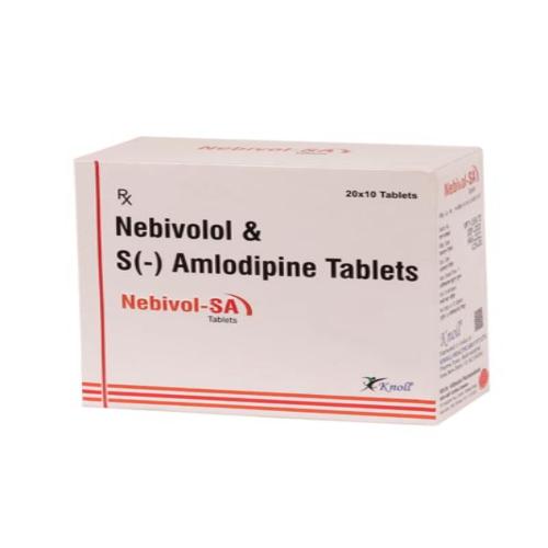 NEBIVOLOL 5 MG + S- AMLODIPINE 2.5 MG