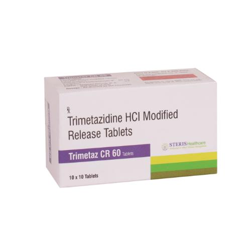 TRIMETAZIDINE SR 60 MG