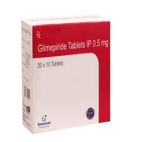 GLIMEPIRIDE 0.5 MG